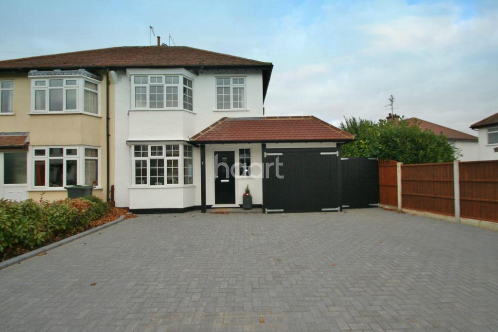 3 Bedrooms Semi Detached House for sale in Glastonbury Chase