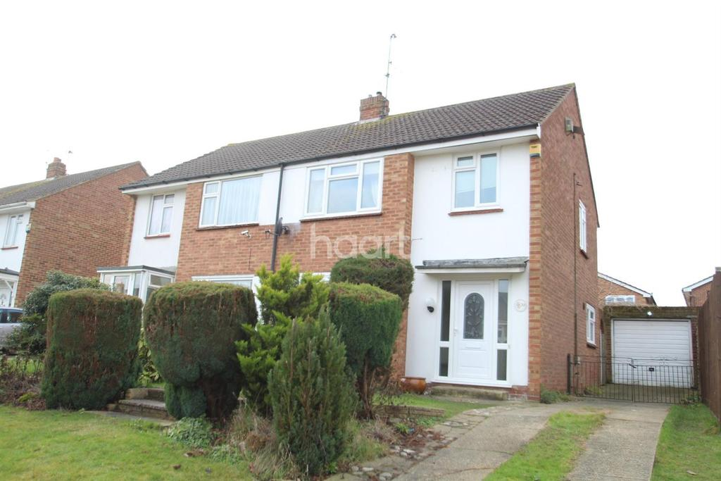 3 Bedrooms Semi Detached House for sale in Ballens Road, Lords Wood, Chatham