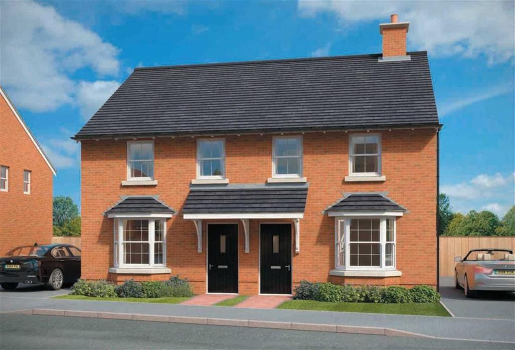 3 Bedrooms Semi Detached House for sale in Montgomery Place, Oswestry, Morda Oswestry