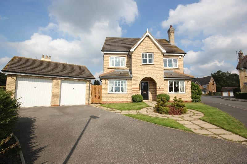 5 Bedrooms Detached House for sale in Abbeywood, Fir Tree