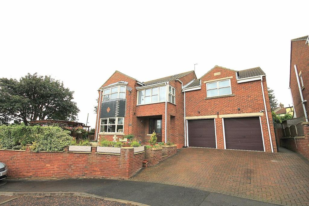 5 Bedrooms Detached House for sale in Wellgarth Court North Bitchburn, Crook