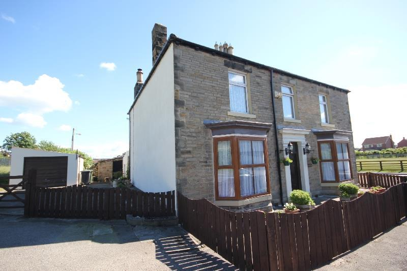 4 Bedrooms Detached House for sale in Valley Terrace, Howden le Wear