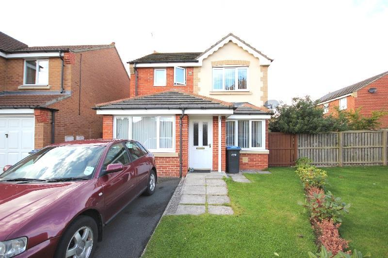 3 Bedrooms Detached House for sale in Lewthwaite Gardens, Willington