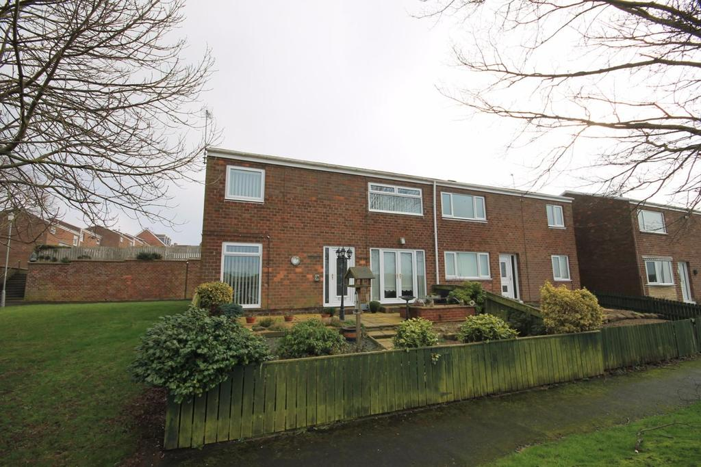 3 Bedrooms Terraced House for sale in Dale View, Crook