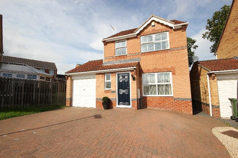 3 Bedrooms Detached House for sale in Dickens Way, Crook