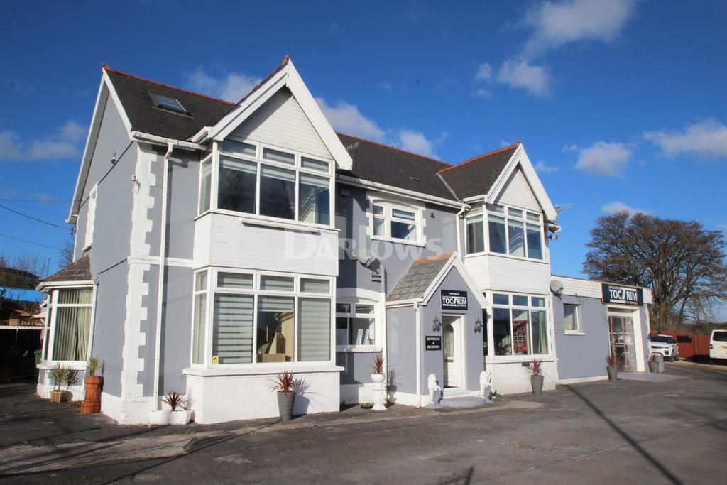 6 Bedrooms Detached House for sale in Cefn Llwynau House, Penallta, Ystrad Mynach