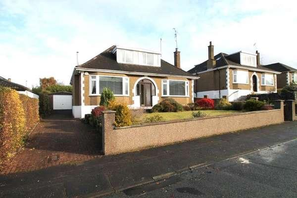 3 Bedrooms Detached Bungalow for sale in 37 Lothian Drive, Clarkston, Glasgow, G76 7NA