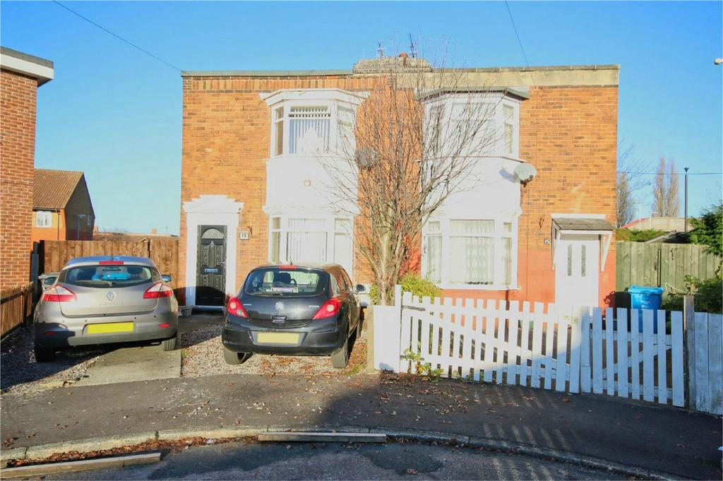 2 Bedrooms Semi Detached House for sale in Ormerod Crescent, Hull, East Riding of Yorkshire