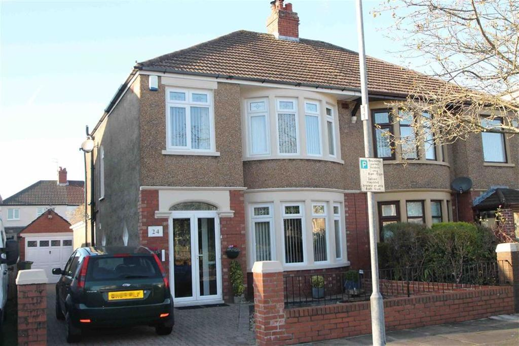 3 Bedrooms Semi Detached House for sale in St. Angela Road, Heath, Cardiff