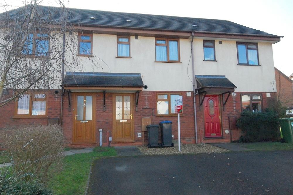 2 Bedrooms Town House for sale in Chicory Drive, RUGBY, Warwickshire