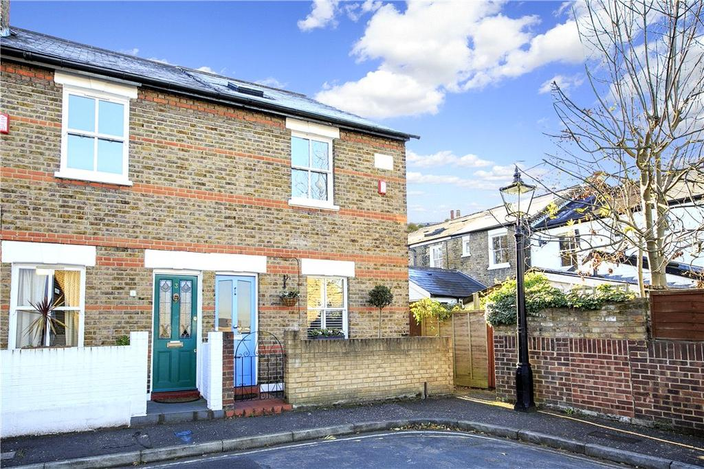 2 Bedrooms Terraced House for sale in Audley Road, Richmond, TW10
