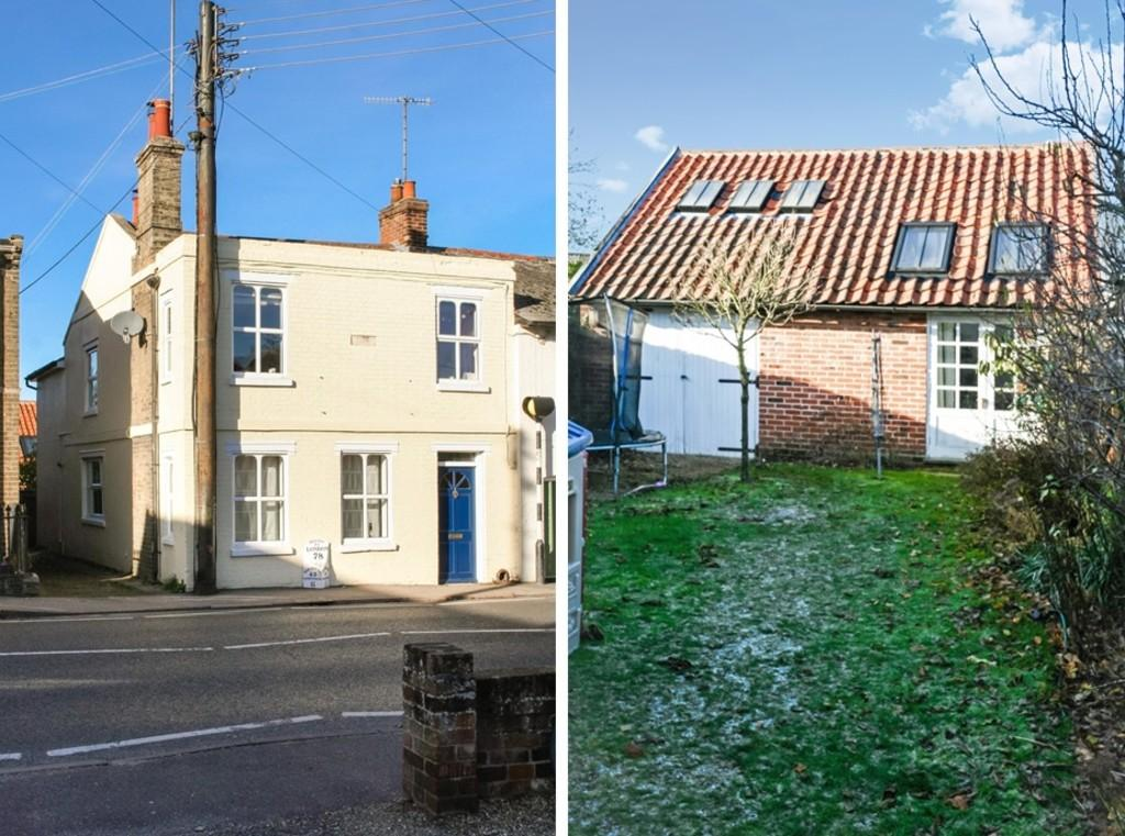 4 Bedrooms End Of Terrace House for sale in The Street, Melton, Woodbridge