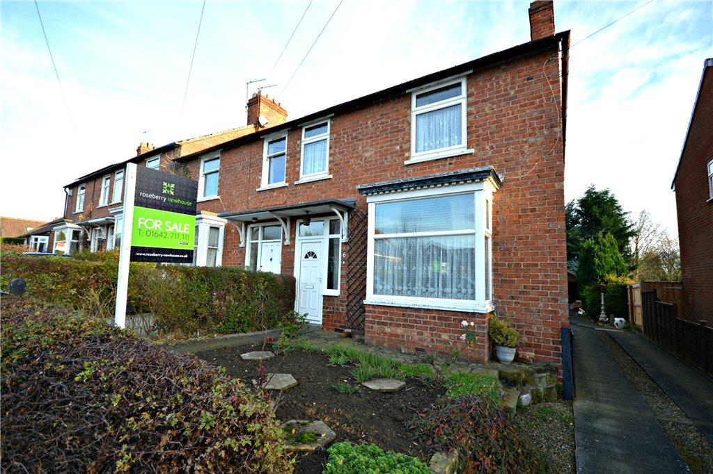 3 Bedrooms End Of Terrace House for sale in Doctors Lane, Hutton Rudby, Yarm
