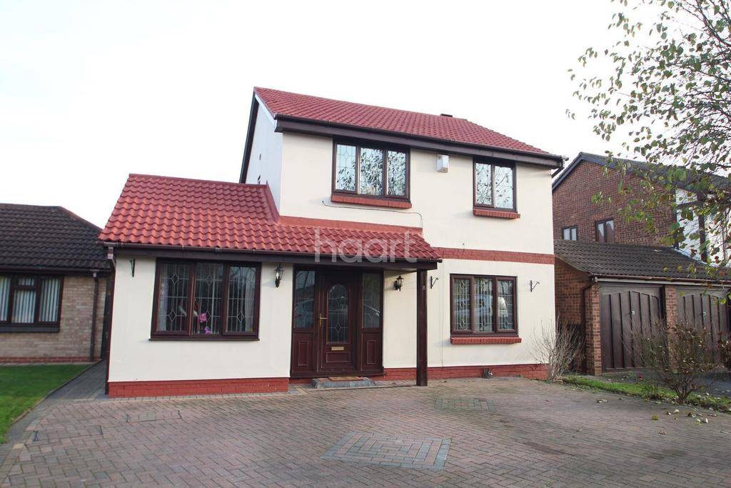 4 Bedrooms Detached House for sale in Grace Drive, Aspley