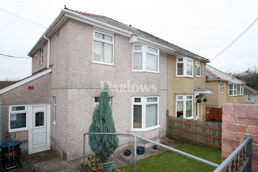 3 Bedrooms Semi Detached House for sale in Alandale Road, Rassau, Ebbw Vale, Gwent