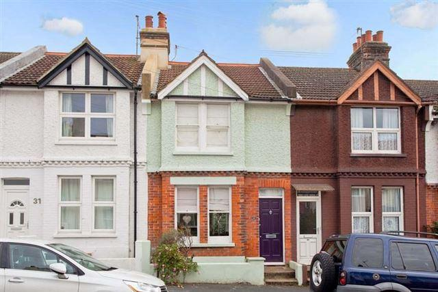 2 Bedrooms Terraced House for sale in Bolsover Road, Hove