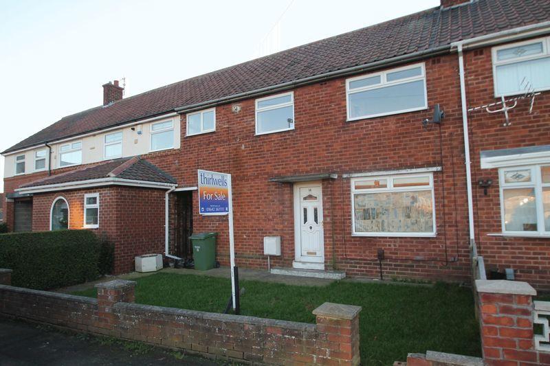 3 Bedrooms Terraced House for sale in Peveril Road, Billingham