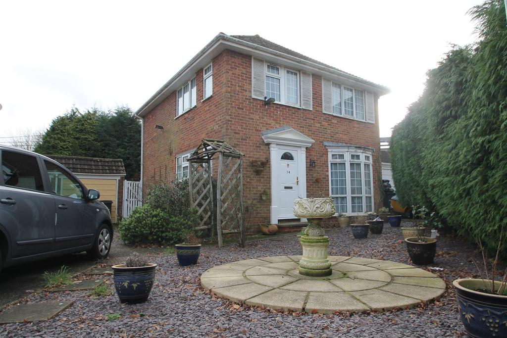 3 Bedrooms Detached House for sale in Dane Court, Coxheath, Maidstone