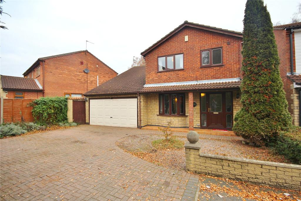 4 Bedrooms Detached House for sale in Burnmoor Close, Lincoln, LN6