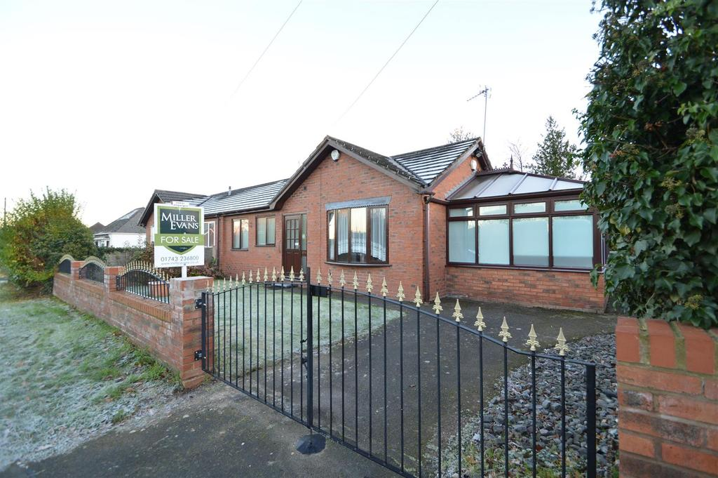2 Bedrooms Semi Detached Bungalow for sale in 89b Lythwood Road, Bayston Hill, Shrewsbury,SY3 0NL