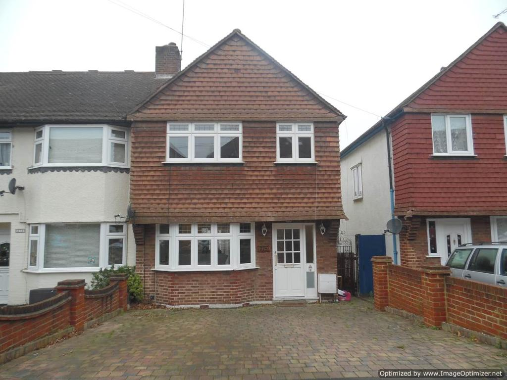 3 Bedrooms End Of Terrace House for sale in Lynmouth Avenue, Morden SM4