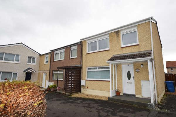3 Bedrooms End Of Terrace House for sale in 8 Hazelgrove, Kilwinning, KA13 7JH