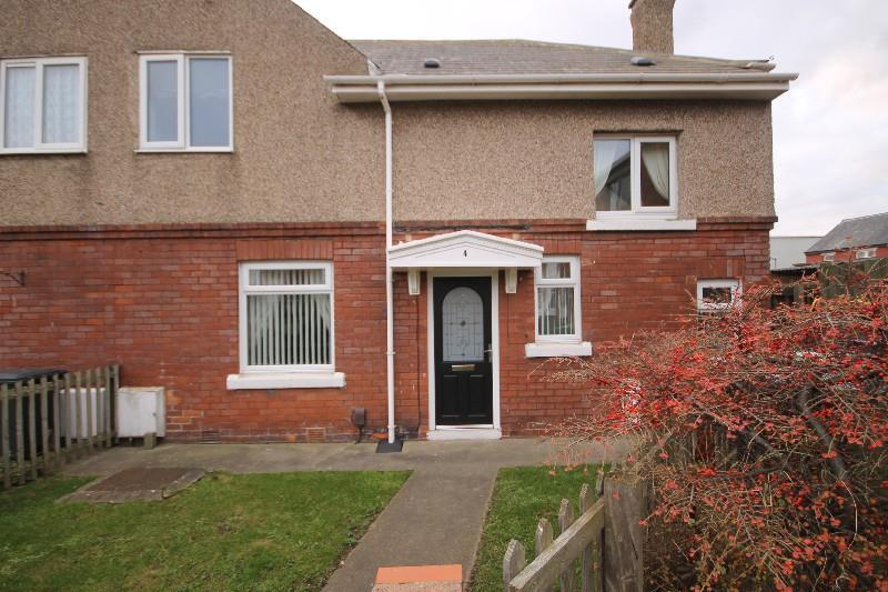 2 Bedrooms End Of Terrace House for sale in Gibb Square, Hartlepool