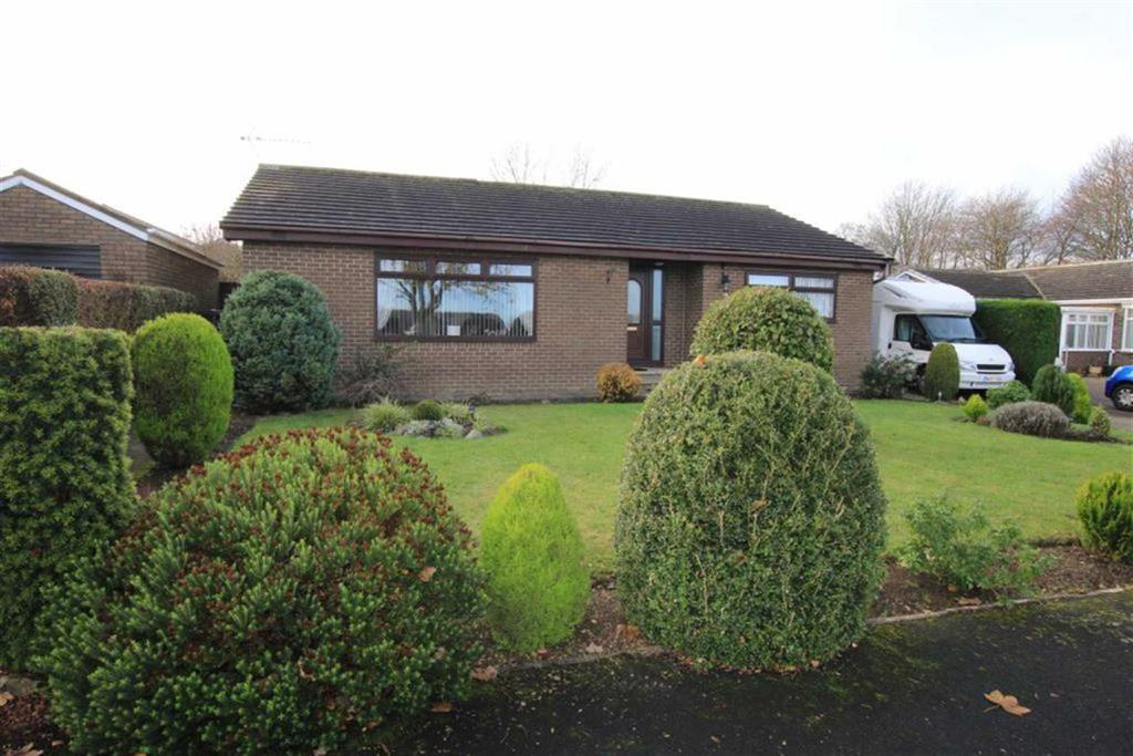 3 Bedrooms Detached Bungalow for sale in Haselrigg Close, School Aycliffe, County Durham