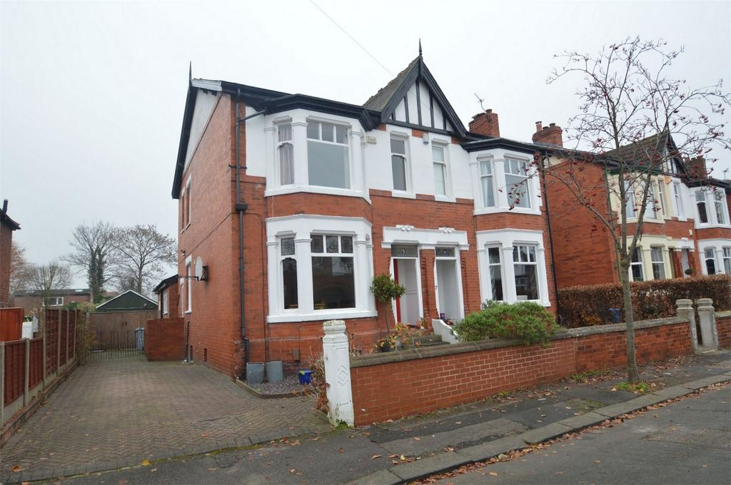 4 Bedrooms Semi Detached House for sale in Arran Avenue, SALE, Cheshire