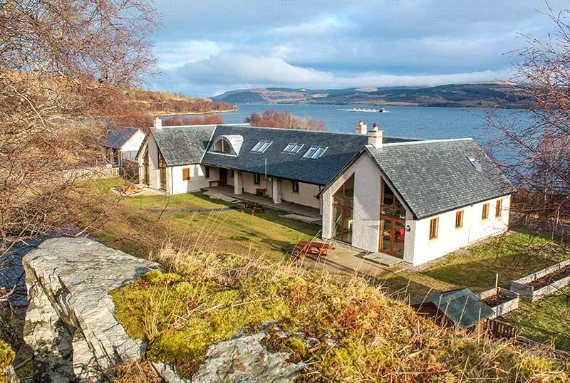 2 Bedrooms Terraced House for sale in Corry Meadows, Craignure, Isle of Mull, PA65