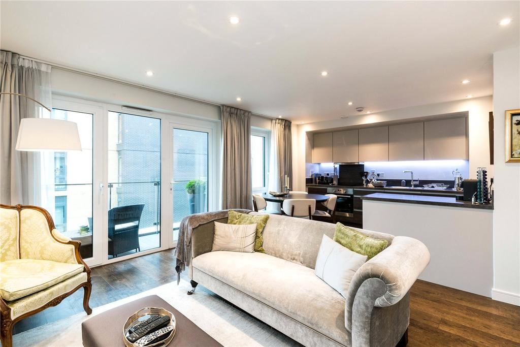 2 Bedrooms Flat for sale in Avon House, 5 Enterprise Way, Wandsworth, London, SW18
