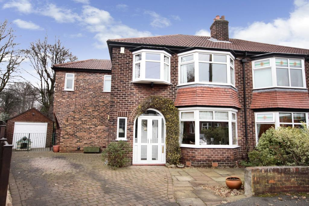 4 Bedrooms Semi Detached House for sale in Hawthorn Avenue, Wilmslow