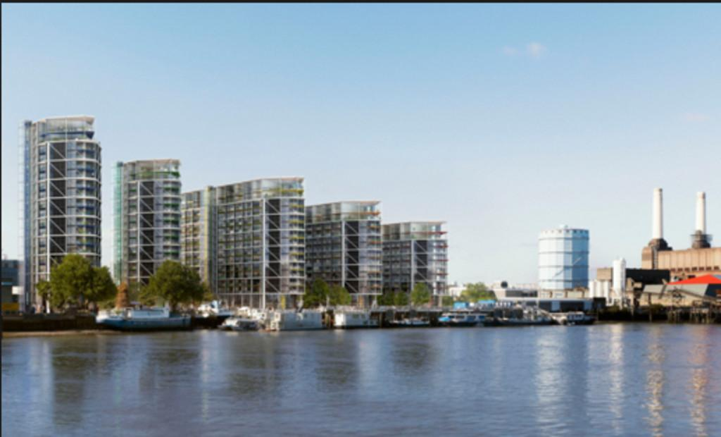 2 Bedrooms Apartment Flat for sale in Riverlight Three, Nine Elms, London