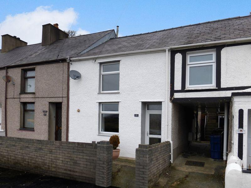 3 Bedrooms Terraced House for sale in Talysarn