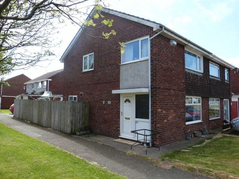 3 Bedrooms Semi Detached House for sale in Burnside, Ashington, Three Bedroom Semi Detached House