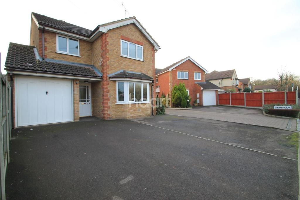 4 Bedrooms Detached House for sale in Weirbrook, Rayleigh