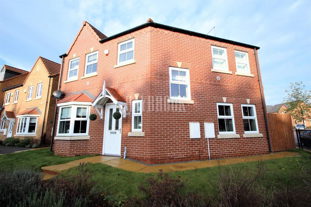 3 Bedrooms Detached House for sale in Wild Geese Way, Mexborough