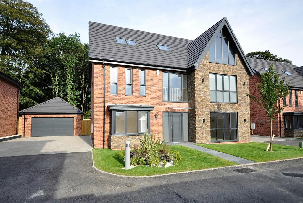 5 Bedrooms Detached House for sale in Plot 12 Type J 'Knightsbridge', Mulberry Gardens, Off Berry Hill Lane, Mansfield
