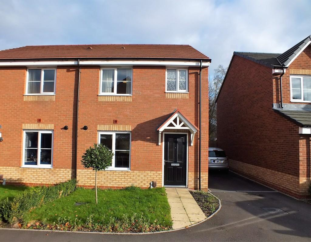 3 Bedrooms Semi Detached House for sale in 16 The Horseshoes, 16