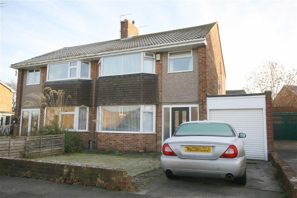 3 Bedrooms Semi Detached House for sale in Otterburn Avenue, West Monkseaton, Tyne Wear, NE25