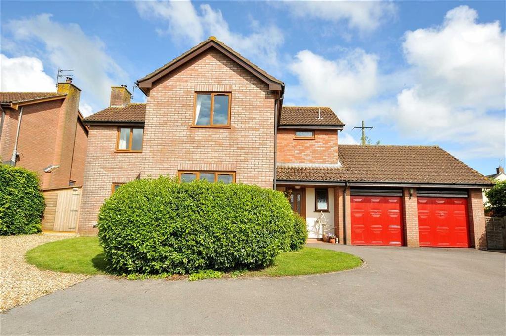 4 Bedrooms Detached House for sale in Langford Budville, Langford Budville, Wellington, Somerset, TA21