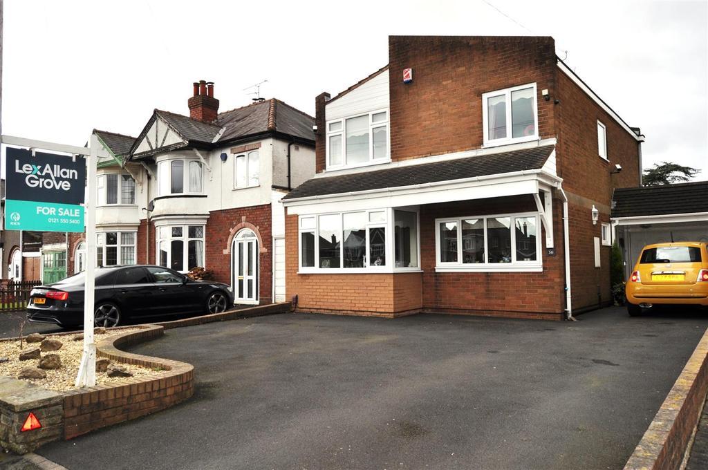 3 Bedrooms Detached House for sale in Manor Lane, Halesowen