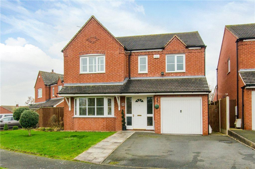 4 Bedrooms Detached House for sale in Hawthorn Rise, Tibberton, Droitwich, Worcestershire, WR9