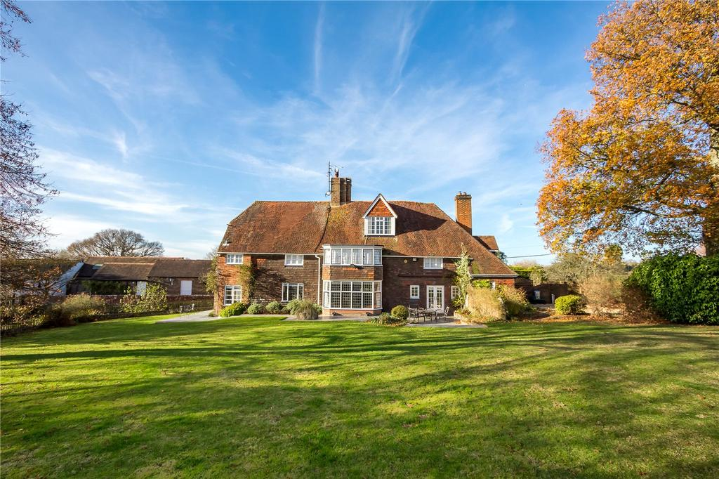 5 Bedrooms Detached House for sale in Pookbourne Lane, Sayers Common, Hassocks, West Sussex