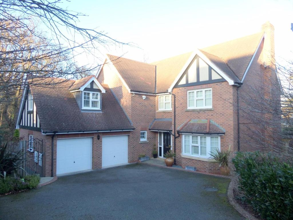 5 Bedrooms Detached House for sale in Cwrt Bedw, Upper Colwyn Bay