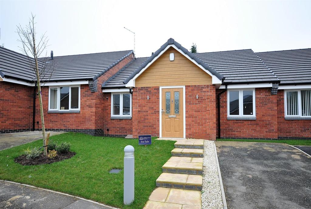 2 Bedrooms Terraced Bungalow for sale in Plot 4, Grosvenor Close, (Off Oxclose Lane), Mansfield Woodhouse