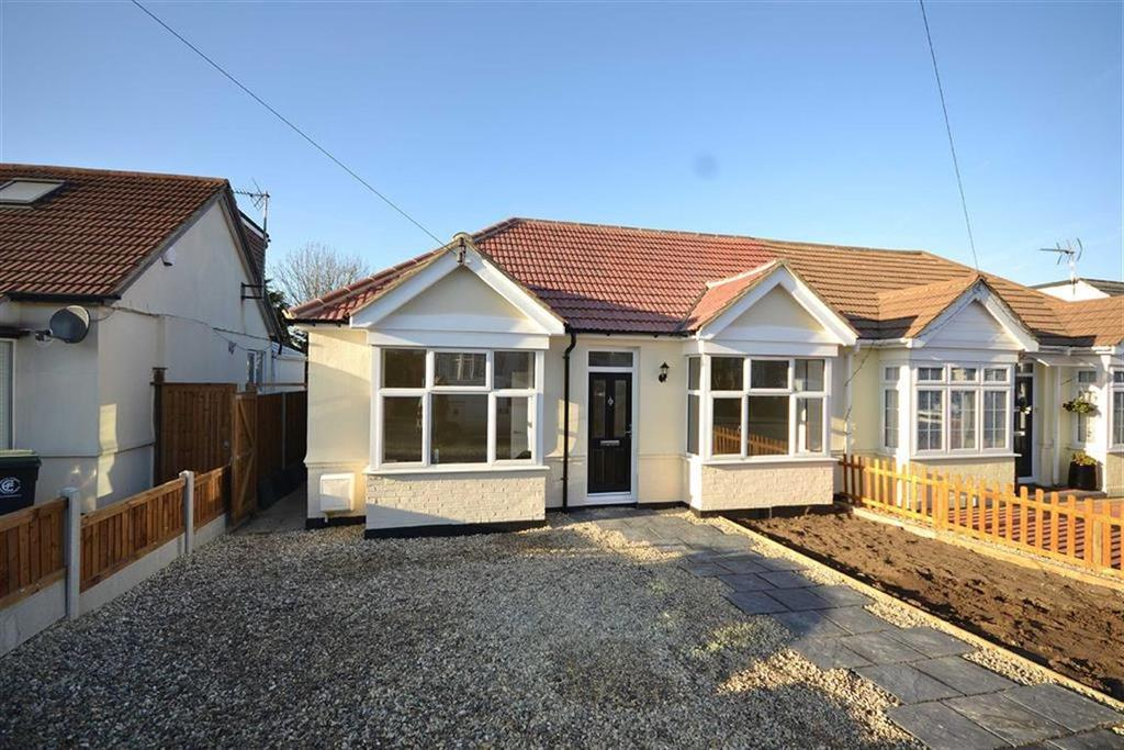 3 Bedrooms Semi Detached Bungalow for sale in Bassett Gardens, North Weald, Essex, CM16