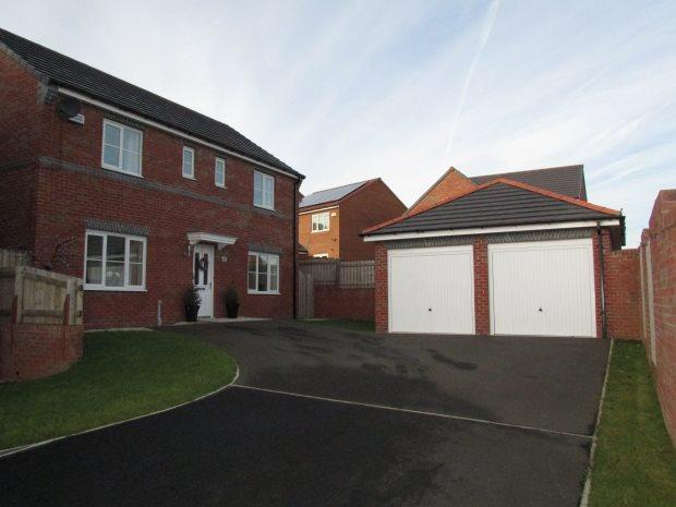 4 Bedrooms Detached House for sale in CROCUS GARDENS, BISHOP CUTHBERT, HARTLEPOOL
