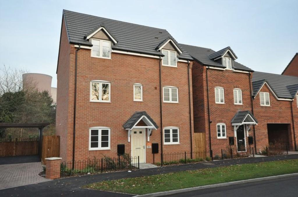 4 Bedrooms Detached House for sale in Woodbury Walk, Brereton