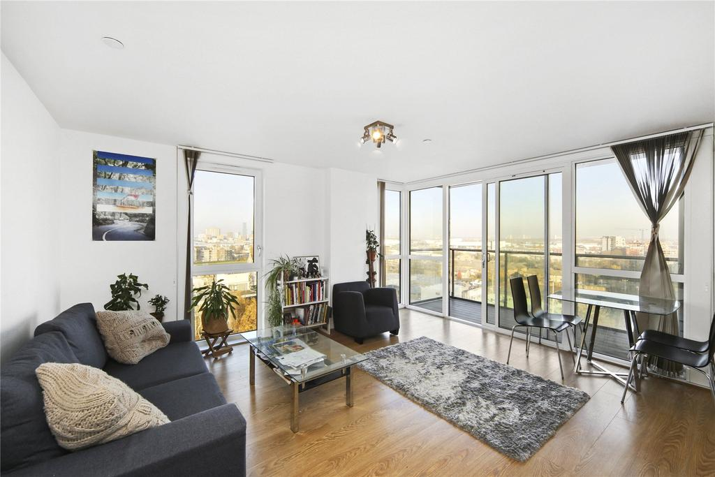 1 Bedroom Flat for sale in Panoramic Tower, 6 Hay Currie Street, London